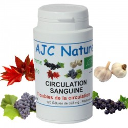GÉLULES CIRCULATION SANGUINE BIO