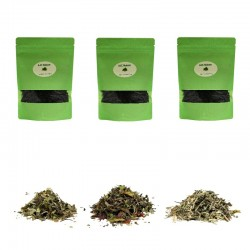 Pack découverte 3 thés blancs et fruits bio