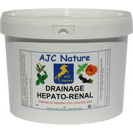 DRAINAGE HEPATO-RENAL | Cheval