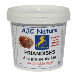 FRIANDISES BOUCHEE AU LIN | Cheval